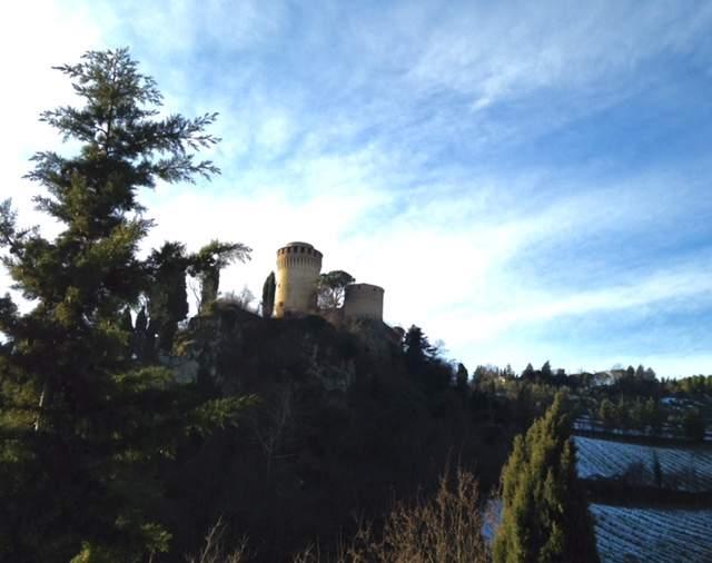 The Castle- La Rocca in Brisighella, Italy