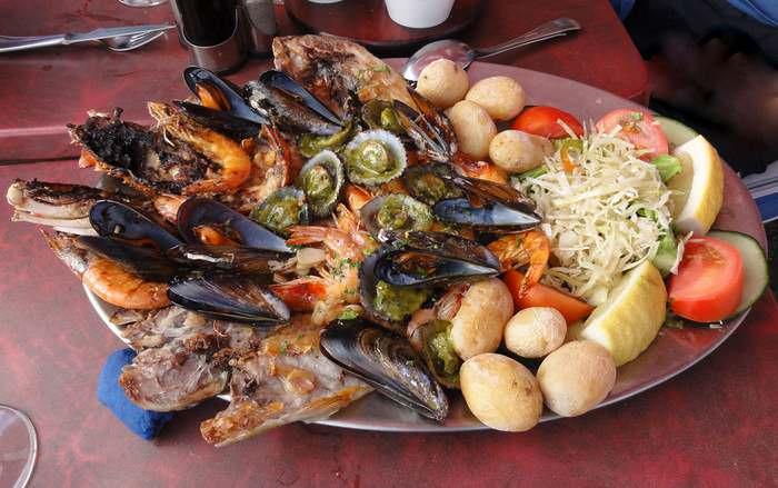Seafood is always on the menu in Lanzarote by Kent Wang