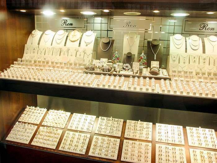 Diamond shop in the Diamond Quarter of Antwerp