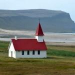 Church in Breidavik , Westfijords