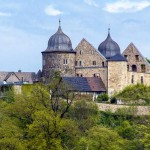 "Sleeping Beauty"" castle of Sababurg one of Germany's fairy tale cities"