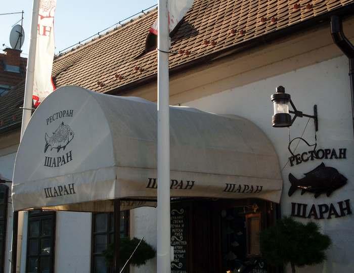 Restoran Šaran in Zemun, Belgrade