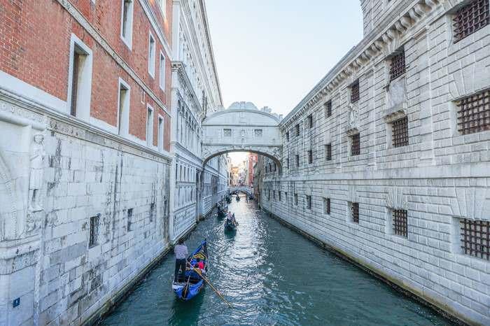 Venice's Bridge of Sighs