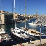 postcard-perfect port in the three cities of malta