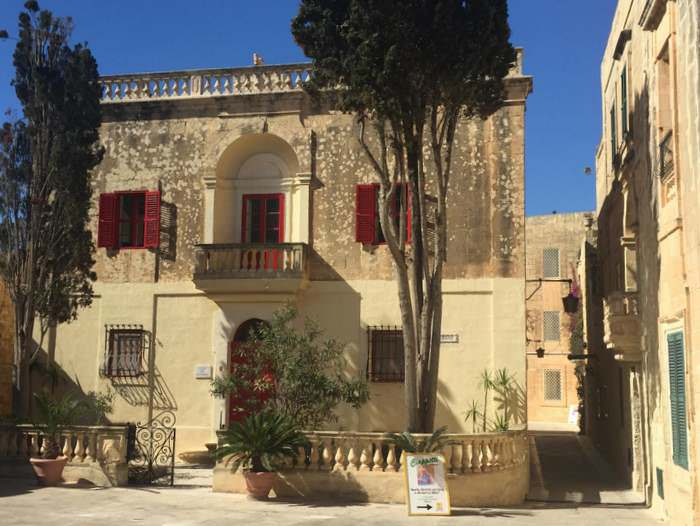 Home of the Carmelite order of nuns in Mdina, Malta