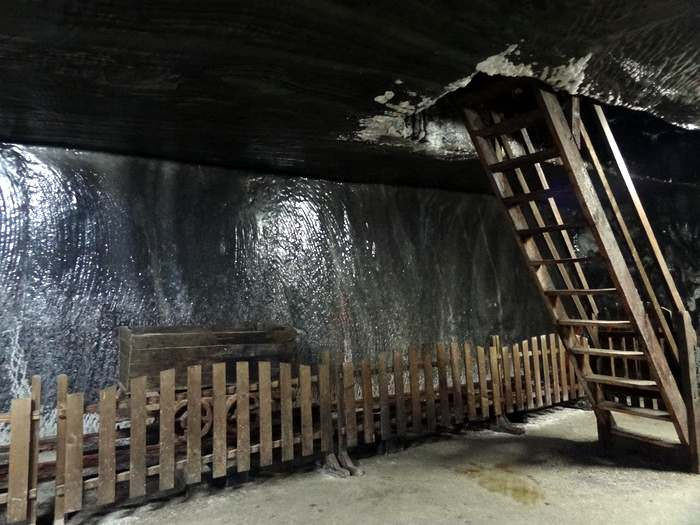 One level down in the salt mines of Maramureș County