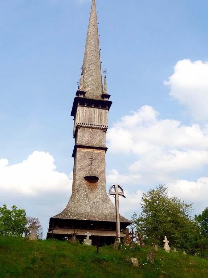 The UNESCO site at Surdesti in Maramureș