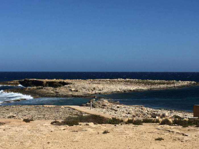 Qawra, Malta in the off-season