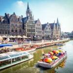 Graslei in Ghent, the most stunning medieval waterfront in Europe