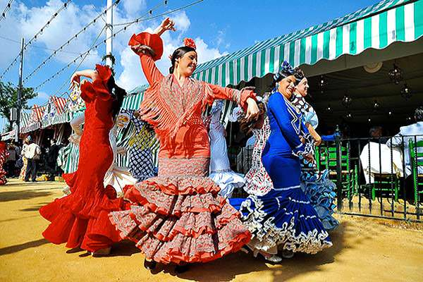 Feria de Abril in Seville an exciting place for Spring travel in Europe