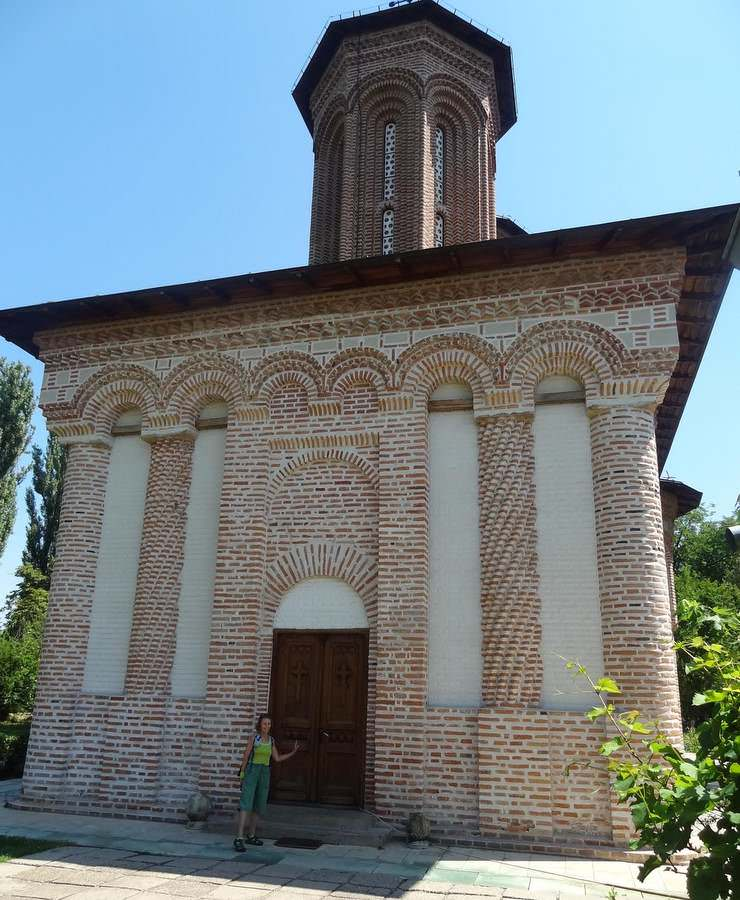The Snagov Monastery Church