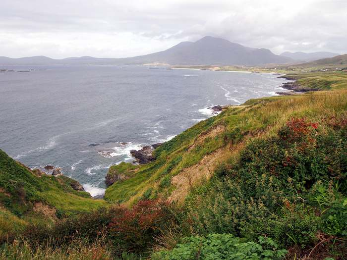 Rugged coast of Connemara