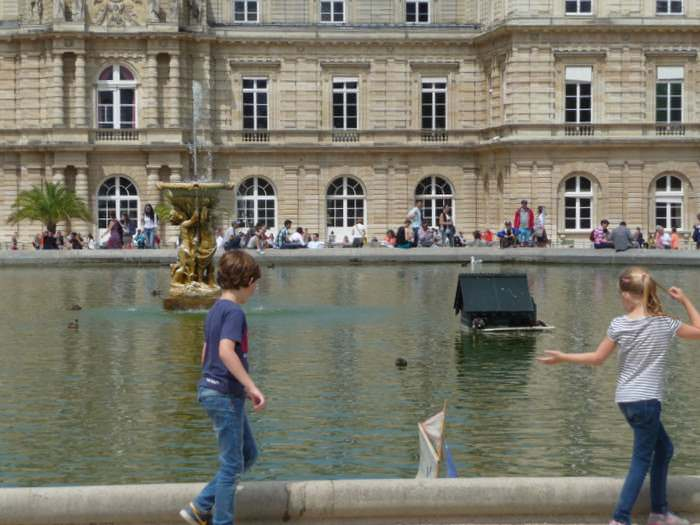 Paris Insider tip: take youe family to the Luxembourg Gardens