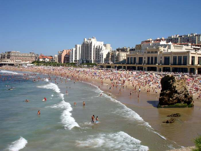 France's Grand plage de Biarritz is one of the best beaches in Europe