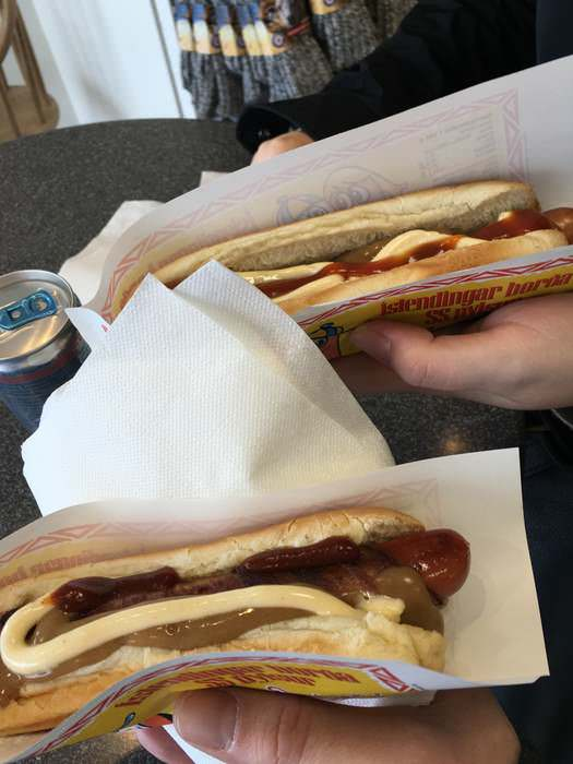 Hot Dogs are an unusual, but delicious part of Icelandic cuisine