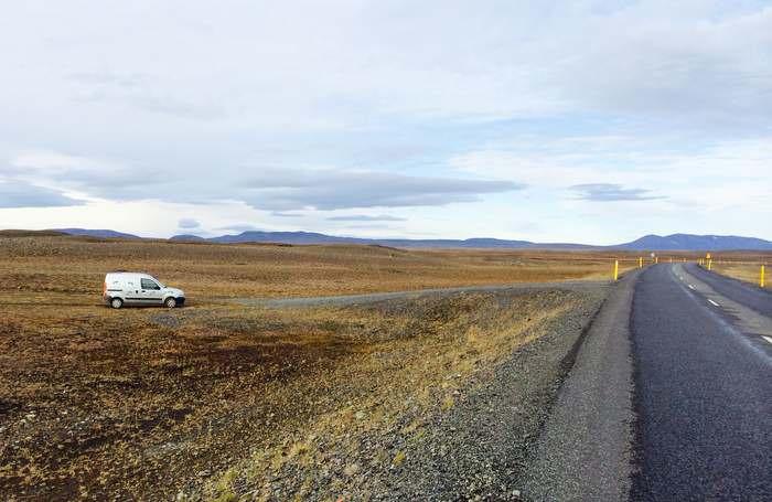 see Iceland in a camper-van