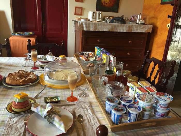 breakfast at Dar Ta' Zeppi on Gozo