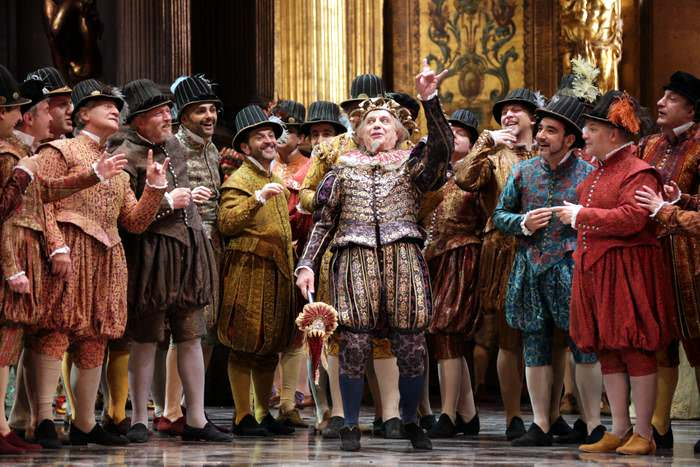 A production at La Scala