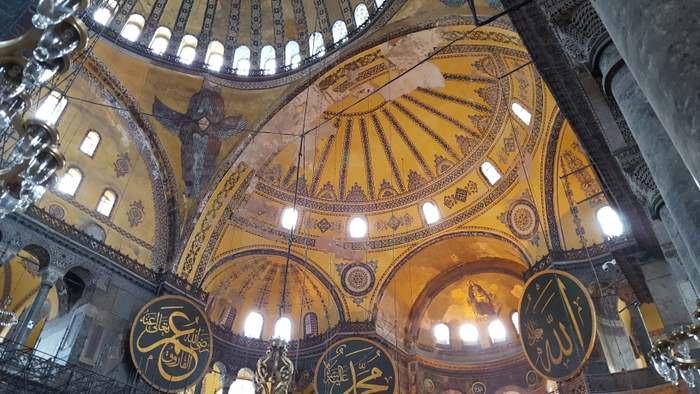 Hagia Sophia one of the many Turkish Delights ©Karin Leperi,