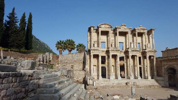 Ephesis is one of the Turkish delights