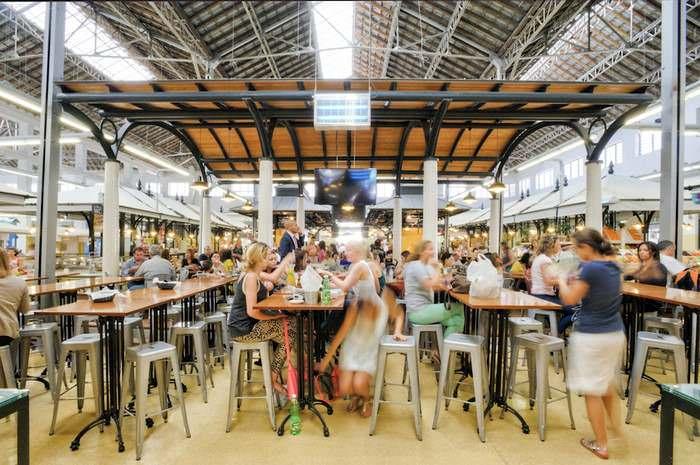 Mercado Campo de Ourique a famous Lisbon Restaurant