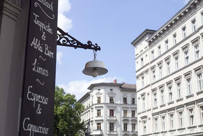 Cafe Goulash on Chamissoplatz in Bergmannkiez