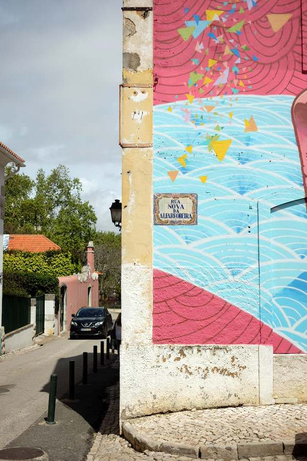 Street art in Cascais