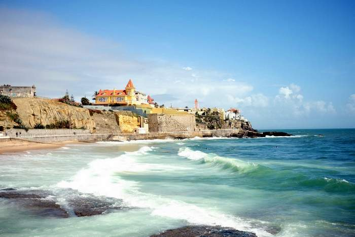 Cascais is located on the Estoril coastline