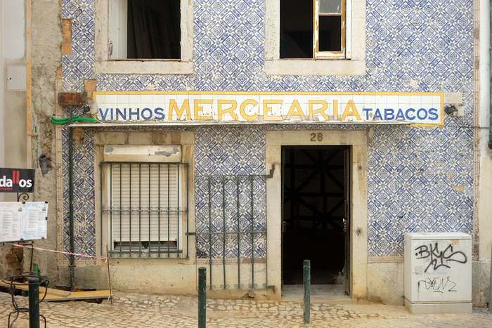 An old 'Mercearia' in Cascais