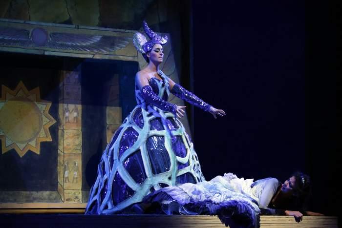 Beautiful costumes at La Scala