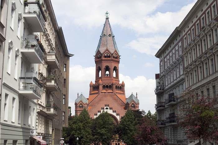 The Beautiful Passionskirche in Bergmannkiez