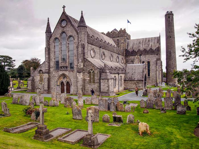 St. Canice's Cathedral in Kilkenny