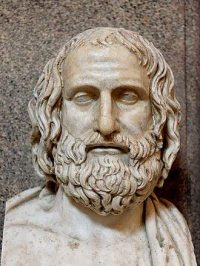 Bust of Euripides
