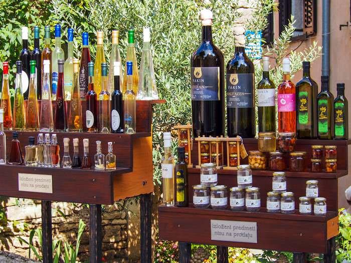 Olive Oils, Vinegars and Wines, Istria