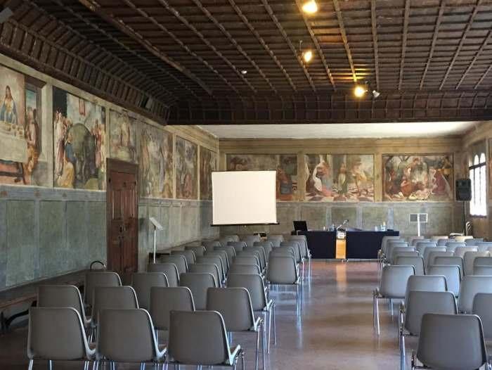 The Sala dei Battuti, where pious businessmen came to beat themselves