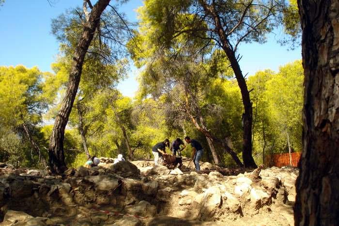 Archeological site for Ajax on Salamina Island