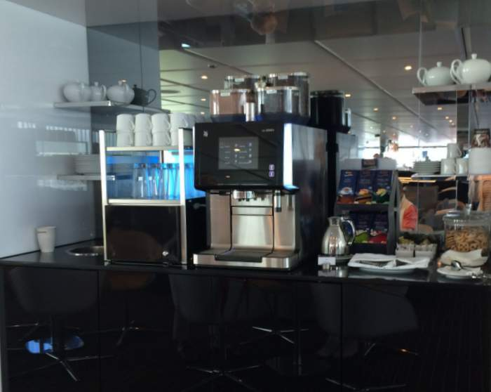 Every river cruise for seniors has a coffee and tea station