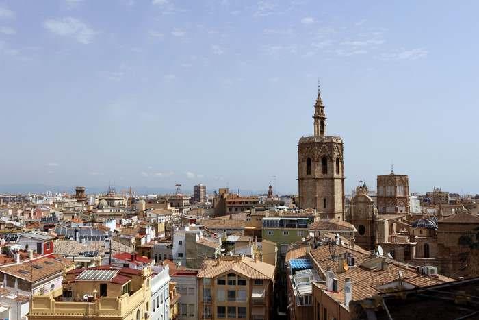 A view over Valencia