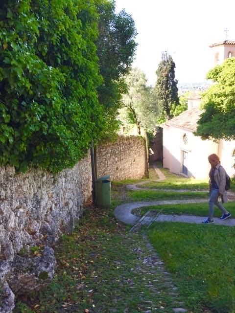 Part of the Calle Madonna della Neve in Conegliano