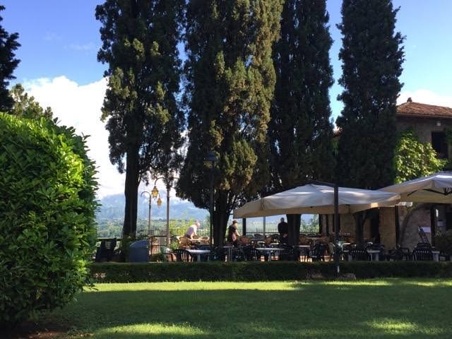 Bar Belvedere on the grounds of the Castello di Conegliano