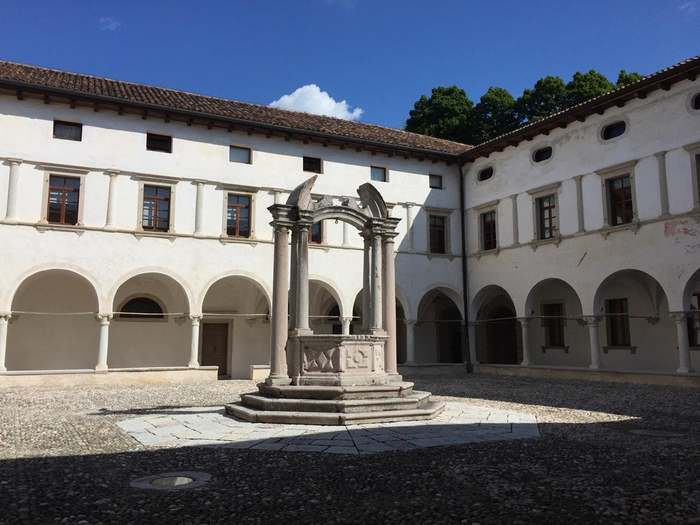 Courtyard of the Convent of San Francesco in Conegliano