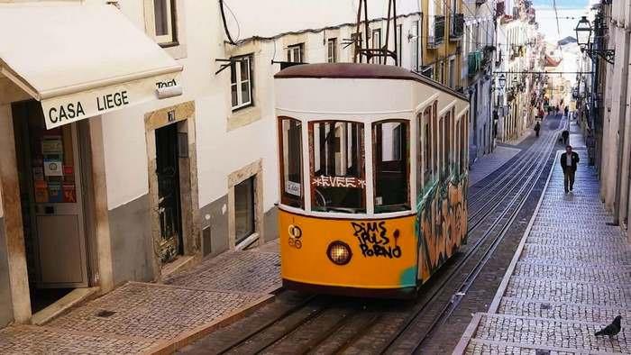 Lisbon's Bica Funicular