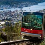 Funicular in Bergen