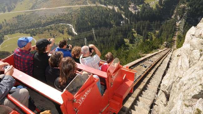 Gelmer Lake Funicular