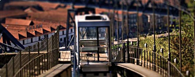 Guindais funicular Porto