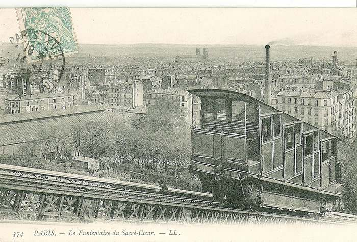 Funicular in Montmartre