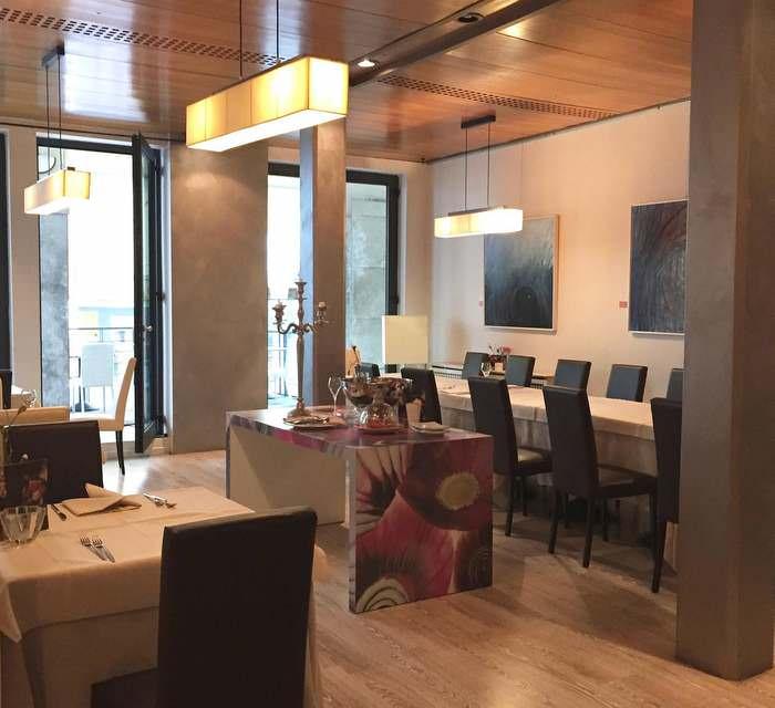Hotel Canon d'Oro restaurantalong the strada del prosecco