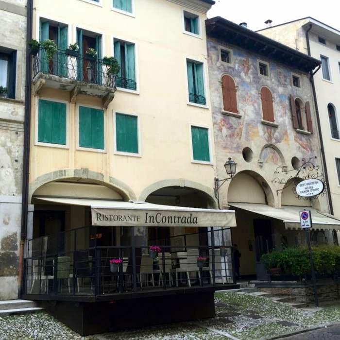 Hotel Canon d'Oro along the strada del prosecco