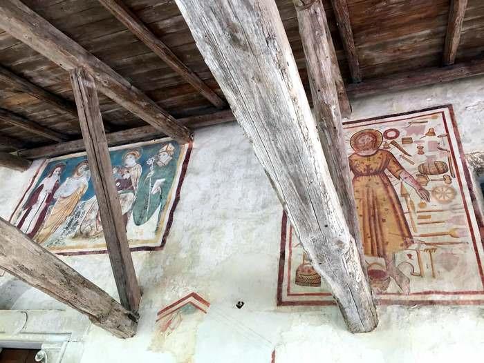 Frescoes from the Pieve Romanica in San Pietro di Feletto