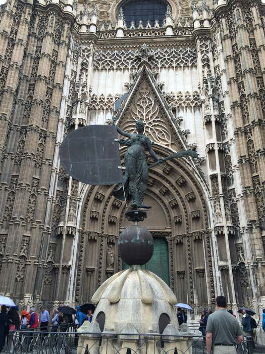 Entrance to the Catedral de Sevilla
